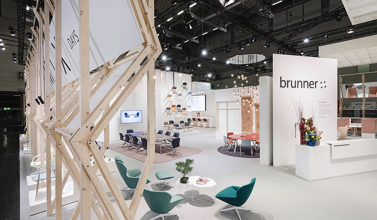 Brunner exhibition stand at Orgatec 2016