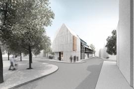 Открытие новой городской библиотеки в Шорндорфе / Гражданские и Общественные