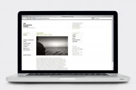 The Renaissance Society / Website & Interactive Media