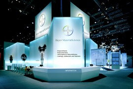 Bayer MaterialScience AG – Plastics Fair 2004 / Fair Stand & Exhibition