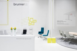 Brunner – Orgatec 2010 / Fair Stand & Exhibition