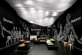 Brunner – Salone Milano 2012 / Fair Stand & Exhibition