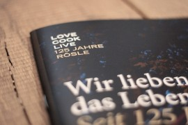 Rösle – 125 Years Jubilee / Print & Editorial