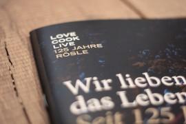 Rösle – 125 Years Jubilee / 인쇄 & 편집디자인