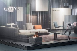 WALTER KNOLL imm cologne 14 / Fair Stand & Exhibition