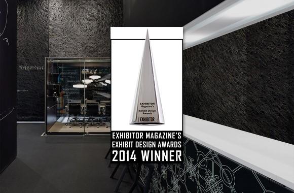 EuroShop Award 2014 / Burkhardt Leitner constructive exhibition stand is 'Best of Show'