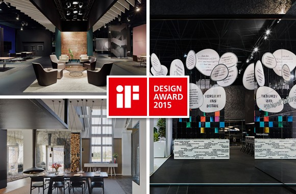 iF Design Award 2015 / Three winning projects