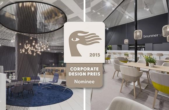 Corporate Design Award / Nomination for Brunner Orgatec