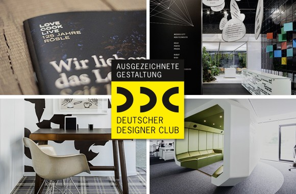 DDC Award ‹Gute Gestaltung 15› / Awards for four projects