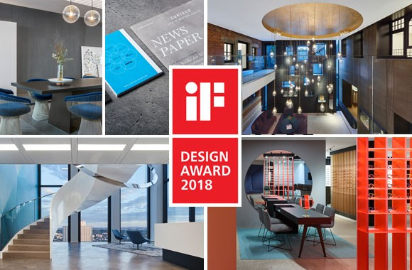 iF Design Award 2018 / Fünf Gewinner