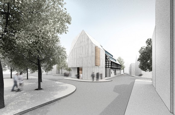 Town library, Schorndorf / 1st prize for Ippolito Fleitz Group