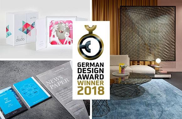 German Design Award / Awards in three categories