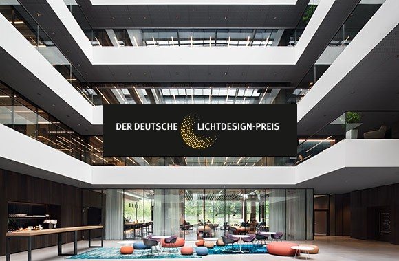 Deutscher Lichtdesign-Preis 2018 / AEB Headquarters wins its category