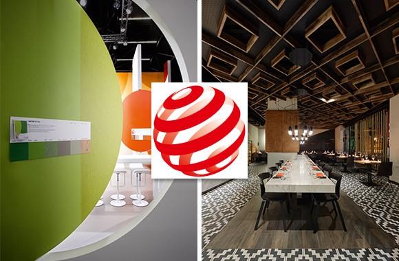 red dot award / Two awards in this prestigious design prize