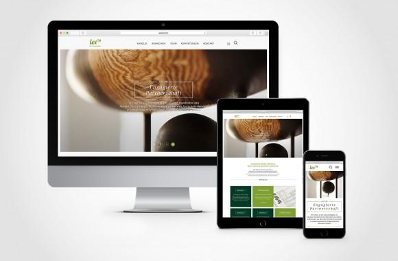 lex™ / Website & Interactive Media