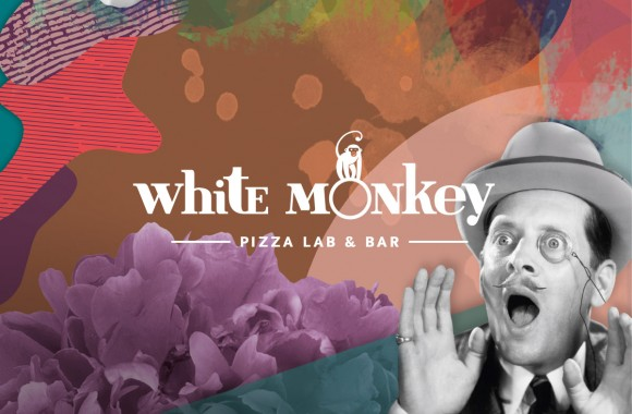 White Monkey Pizza Lab & Bar / Mарка и Имидж