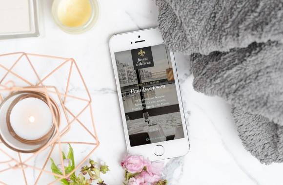 Finest Address / Website & Interactive Media