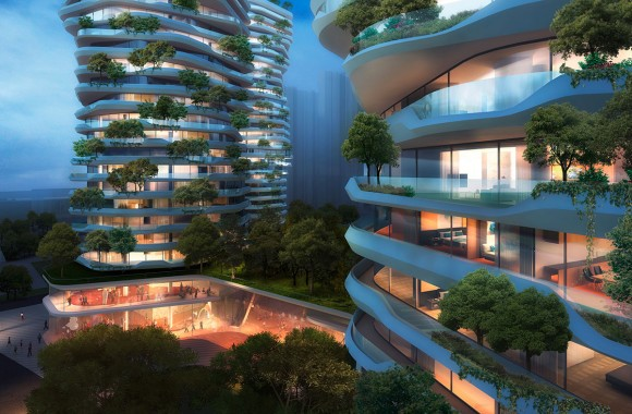 Yancheng Vertical Forest / Residential