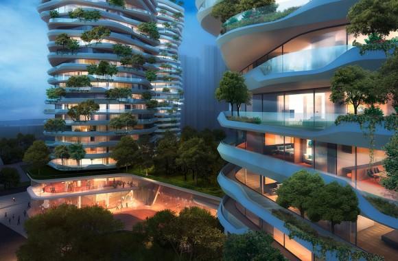 Yancheng Vertical Forest / Wohnen