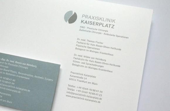 Praxisklink Kaiserplatz / Marke & Identität