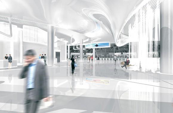 Shanghai Automotive Exhibition Center / Öffentliche Bauten