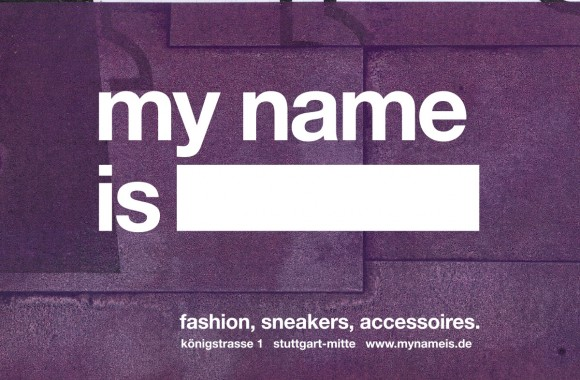my name is / Marke & Identität