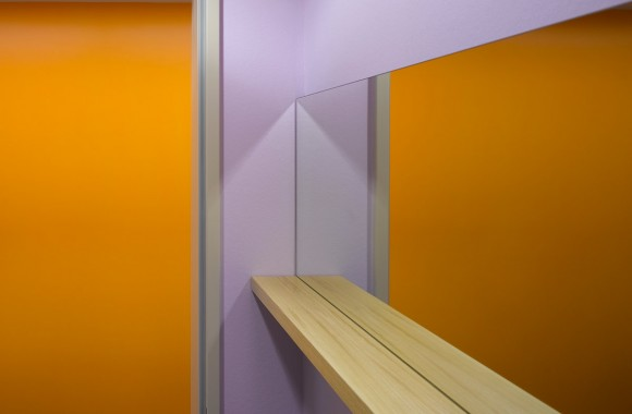 Wittlinger Hahn Stern Radiologie, Schorndorf. A project by Ippolito Fleitz Group – Identity Architects, Colours.