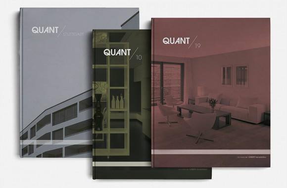 Quant brochures / Print & Editorial