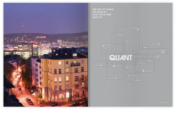 Quant brochures, Stuttgart. A project by Ippolito Fleitz Group – Identity Architects.