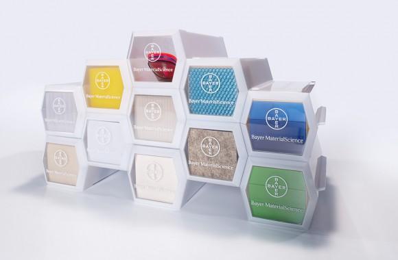 Samplebox Bayer MaterialScience / Materialstudien