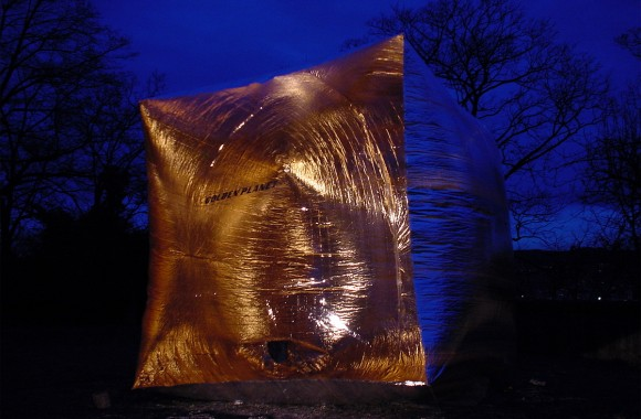 Golden Pavilion / Materialstudien