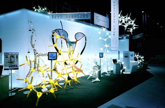 Bayer MaterialScience AG – Plastics Fair 2004. A project by Ippolito Fleitz Group – Identity Architects.
