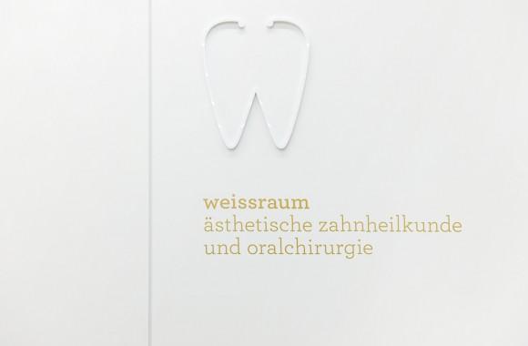 weissraum Zahnarztpraxis / Marke & Identität