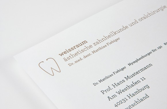 weissraum Dental surgery, Munich. A project by Ippolito Fleitz Group – Identity Architects.