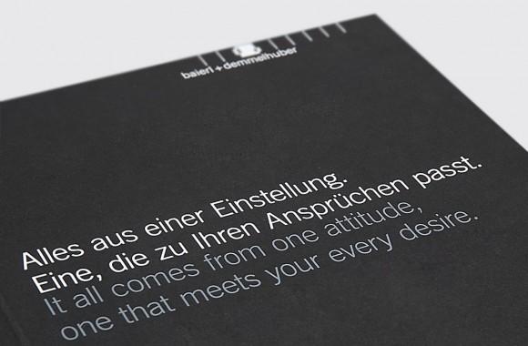 Baierl & Demmelhuber / 인쇄 & 편집디자인