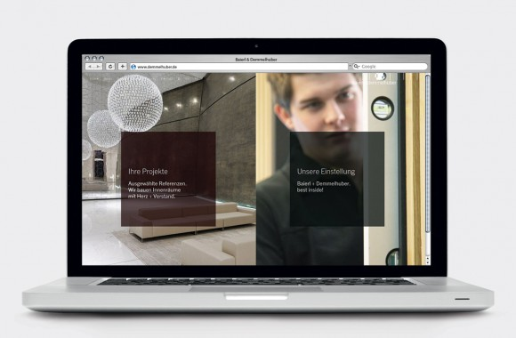 Baierl & Demmelhuber / Website & Interactive Media
