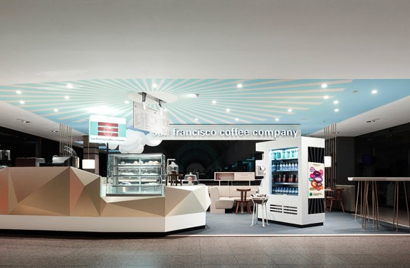 San Francisco Coffee Company / Gastronomie & Hotels