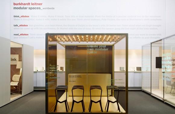 Burkhardt Leitner – Orgatec 2012 / Fair Stand & Exhibition