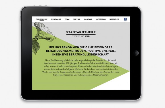 Stadtapotheke Kornwestheim / Website & Interactive Media