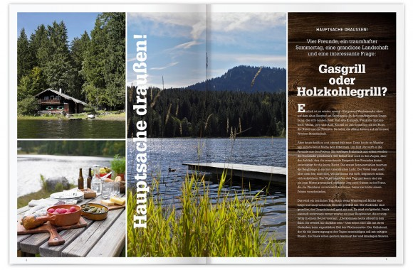 Rösle – BBQ Magazine, Marktoberdorf. A project by Ippolito Fleitz Group – Identity Architects.