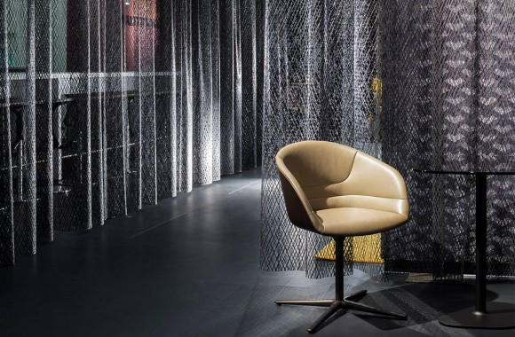 WALTER KNOLL imm cologne 14. A project by Ippolito Fleitz Group – Identity Architects.