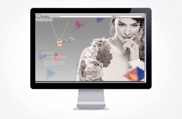 dada Jewellery / Website & Interactive Media