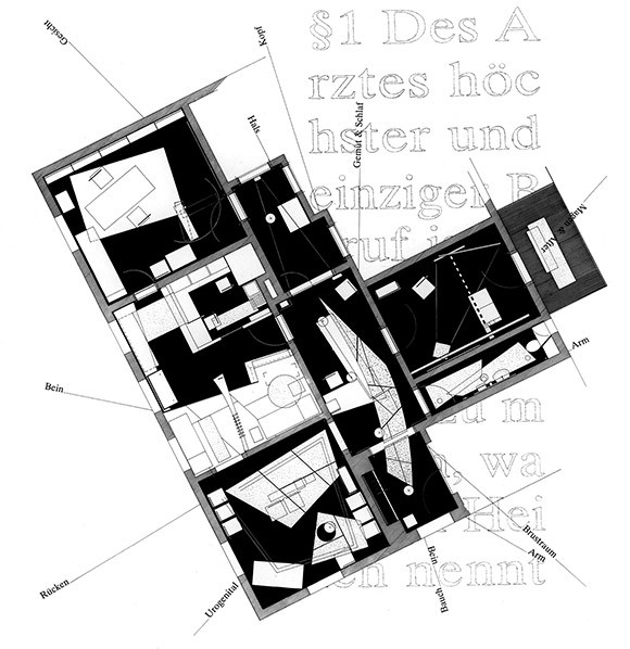Form follows identity - Floorplan Praxis Möller