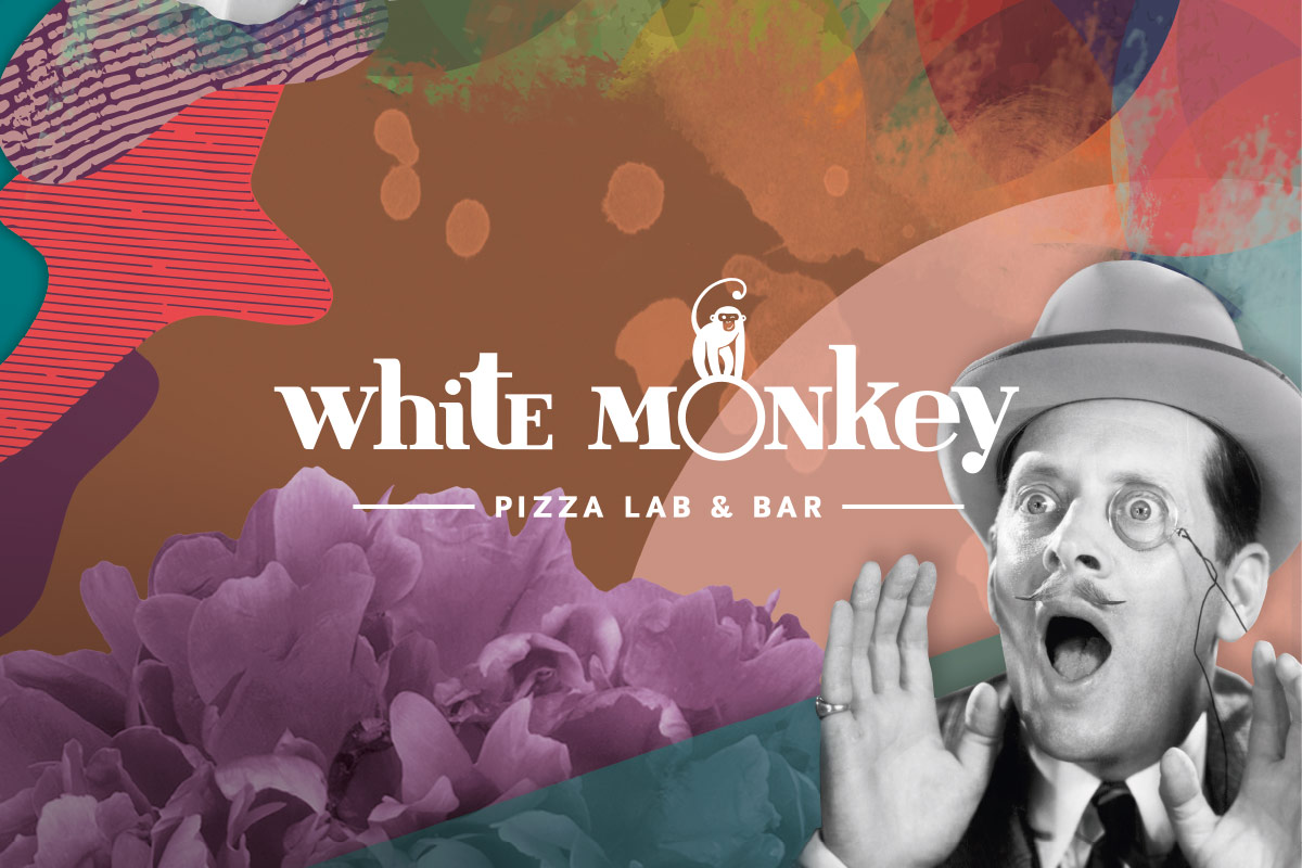 White Monkey Pizza Lab & Bar, Leipzig. Ein Projekt von Ippolito Fleitz Group – Identity Architects, Farben.