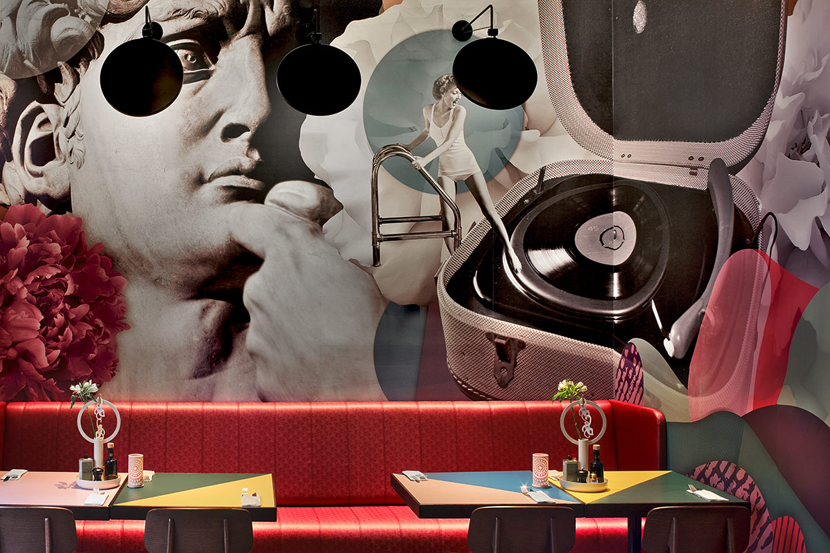 White Monkey Pizza Lab & Bar, Leipzig. Ein Projekt von Ippolito Fleitz Group – Identity Architects, Storytelling.