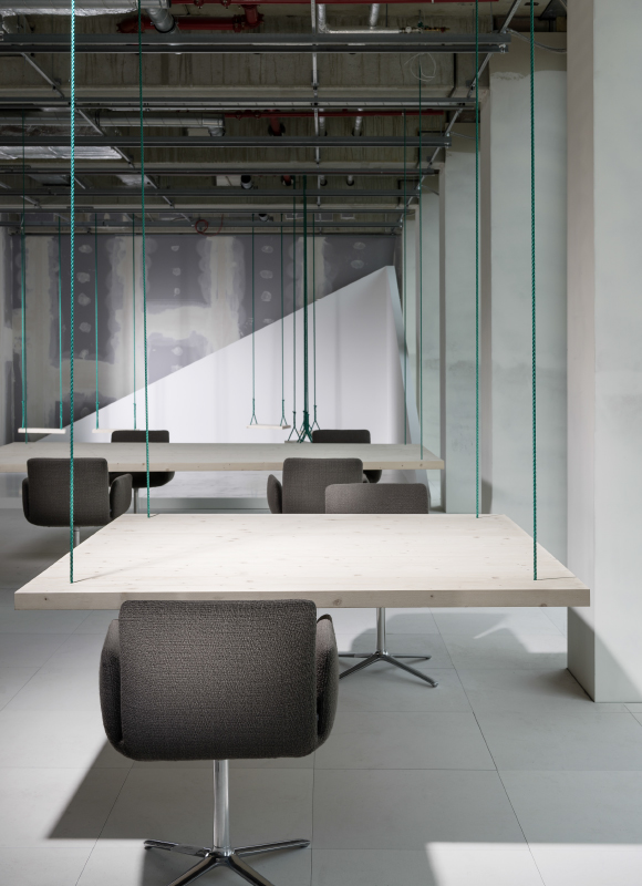 Taunusturm Marketing Suite, Frankfurt. A project by Ippolito Fleitz Group – Identity Architects.
