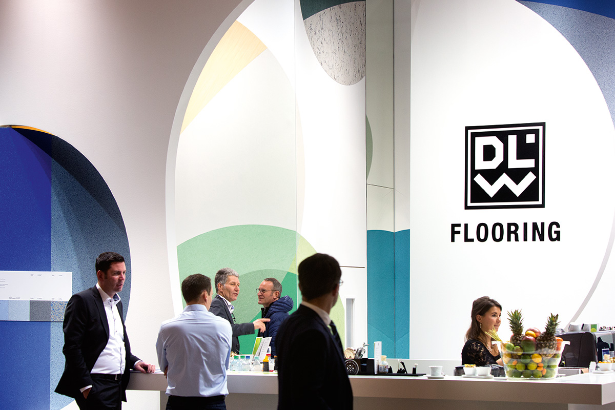DLW Flooring – BAU 2017, Munich. A project by Ippolito Fleitz Group – Identity Architects.