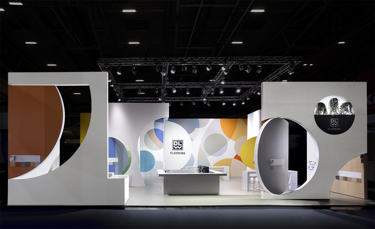 DLW Flooring – BAU 2017, Munich. A project by Ippolito Fleitz Group – Identity Architects, Surfaces.