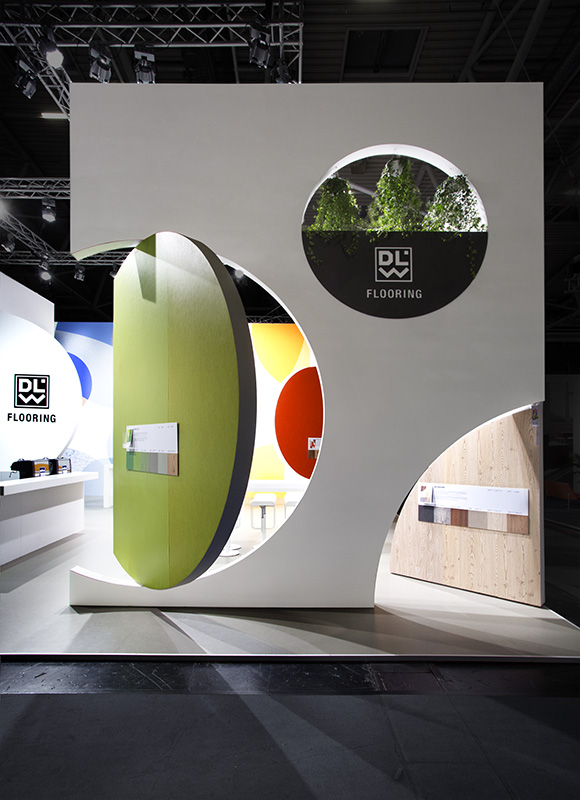 DLW Flooring – BAU 2017, Munich. A project by Ippolito Fleitz Group – Identity Architects, Nature.