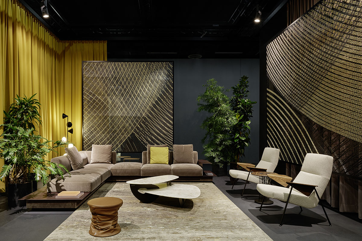 Modern Exhibition Stand Yet : Walter knoll imm « — ippolito fleitz group